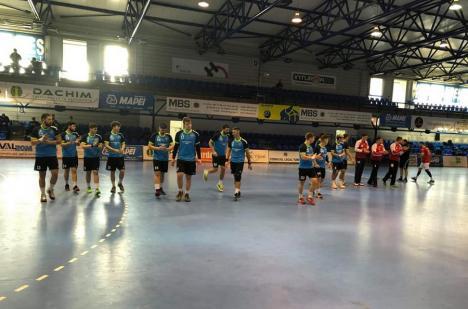 Înfrângeri pe linie la Turda pentru handbaliştii de la CSM Oradea