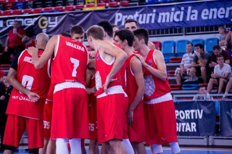 Înfrângere la 30 de puncte pentru CSM CSU Oradea în primul joc cu bosniecii