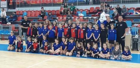 Arena 'Antonio Alexe' a găzdit festivalul handbalistic juvenil 'Cupa Iepuraş'