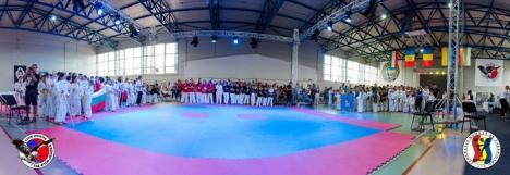 Sportivii de la Wolf Oradea au dominat întrecerile ediţiei a II-a a Cupei Internaţionale de Taekwon-do ITF 'General Choi' (FOTO)