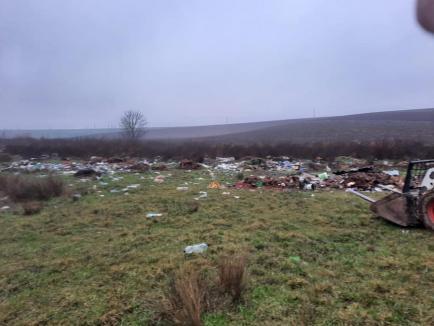 Curăţenie... socială: Cum arată un oraş din Bihor după ce primarul i-a pus pe asistaţi la muncă (FOTO)