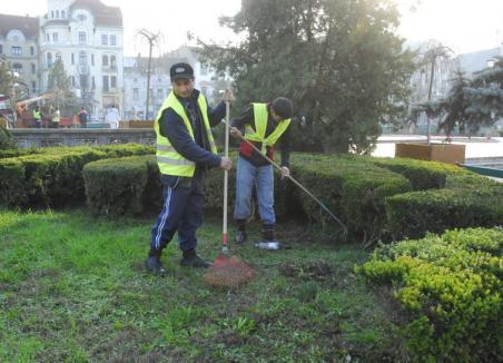 Oradea începe curăţenia de primăvară!