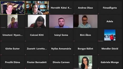 Avantajele pandemiei: Studenţi din Oradea şi Szeged, împreună la un curs susţinut de o renumită profesoară penalistă din Ungaria
