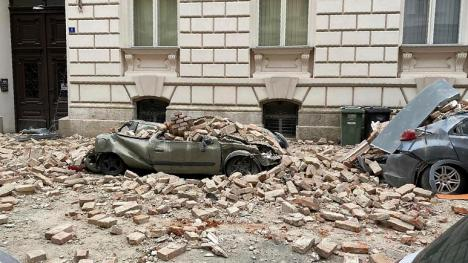 Două cutremure puternice în Croaţia: Zeci de oameni au fost răniţi (FOTO / VIDEO)