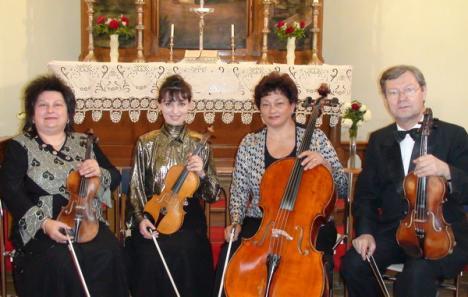 Cvartetul Varadinum, de 20 de ani