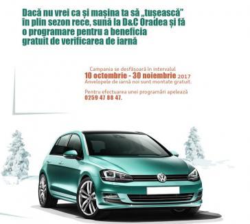 Nu-ţi lăsa motorul să 'răcească', vino să faci verificarea de iarnă la D&C Oradea!