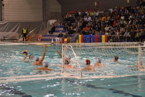 Poloiştii de la CSM Digi au realizat scorurile campionatului cu Poli CSM Cluj