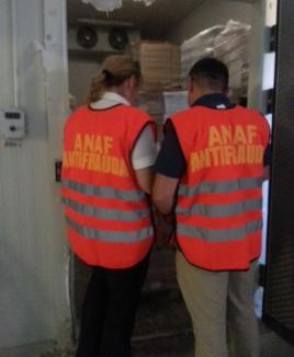 Aproape 75 de tone de carne, confiscate de inspectorii antifraudă, la Tinăud (VIDEO)