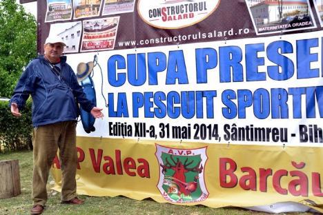 Cupa Presei la pescuit: 40 de kilograme de peşte scoase din balta de la Sântimreu (FOTO)