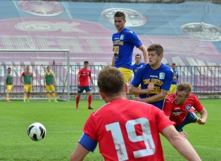 FC Bihor s-a impus cu 3-2 în faţa Olimpiei (FOTO)