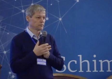 Dacian Cioloş îşi face partid: 'Ne prezentăm la următoarele alegeri cu o ofertă politică' (VIDEO)