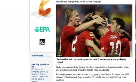 Cei de la Daily Mail cred că Bucureştiul e în Ungaria