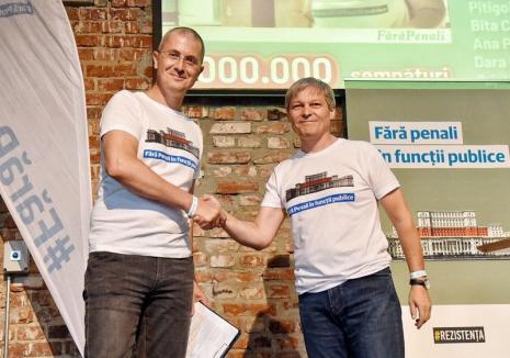 Dacian Cioloş şi Dan Barna vin, miercuri, la Oradea