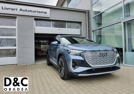 D&C Oradea a livrat primul model Audi Q4 e-tron!