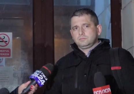 Declaraţii după audieri: Fostul şef al DNA Oradea, Ciprian Man, şi-a cerut scuze judecătorilor oneşti