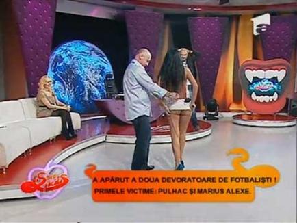 Daniela Crudu, în fundul gol la Capatos (VIDEO)