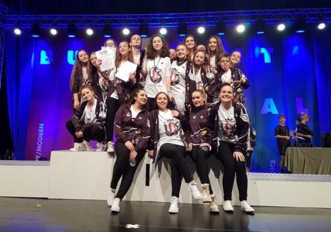 Rezultate foarte bune pentru dansatorii orădeni de la 'Unique Dance Studio' la Concursul Internaţional 'Bucharest Dance Festival 2017'