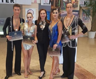 Dansatorii orădeni de la Stephany au devenit vicecampioni naţionali