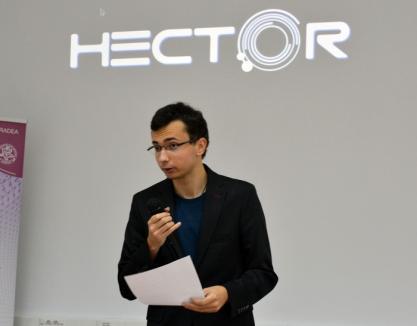 Hector, asistentul personal: Un student orădean a creat o aplicaţie inspirată din filmul 'Iron Man' (FOTO/VIDEO)