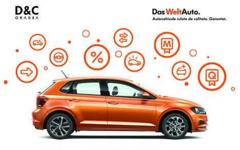 Află avantajele autoturismelor rulate, vândute sub marca Das WeltAuto, prin D&C Oradea
