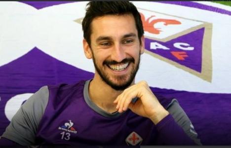 Tragedie în lumea fotbalului: Căpitanul echipei Fiorentina, Davide Astori, a fost găsit mort într-o cameră de hotel (VIDEO)