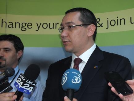 """Ponta contra Bolojan, pe tema taxelor din Parcul Industrial: """"Luăm Primăriei terenurile şi le dăm Consiliului Judeţean"""" (FOTO)"""