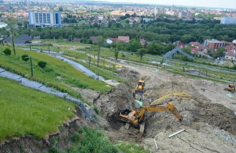 Înc-o tură! După ce a 'demolat' Dealul Ciuperca, firma Abed Nego are tupeul să vrea să-l consolideze