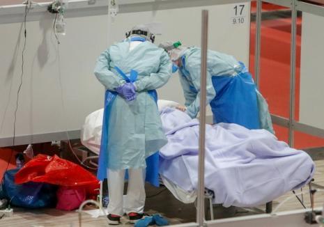A patra zi la rând cu decese Covid în Bihor şi 53 noi îmbolnăviri în ultimele 24 de ore