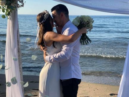 #JustMarried: Denisa Hodișan s-a măritat cu Flick Domnul Rimă (FOTO / VIDEO)