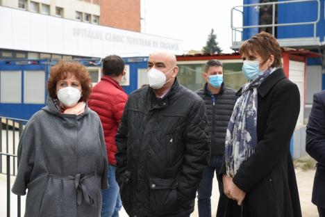 Unitatea de Primire a Urgențelor din Oradea, cea mai modernă din ţară! Pacienţii vor fi trataţi în boxe individuale, cu aparatură modernă şi în condiţii europene (FOTO / VIDEO)