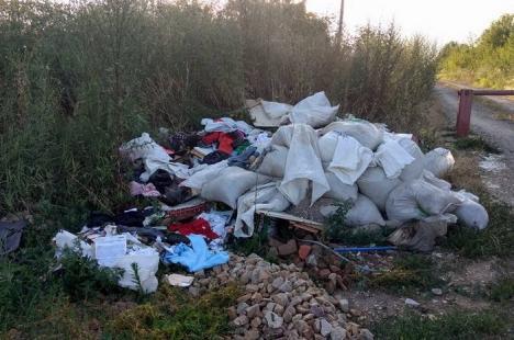 O orădeancă a fost amendată cu 2.000 de lei după ce şi-a aruncat gunoaiele aiurea şi a fost 'pârâtă' pe Facebook