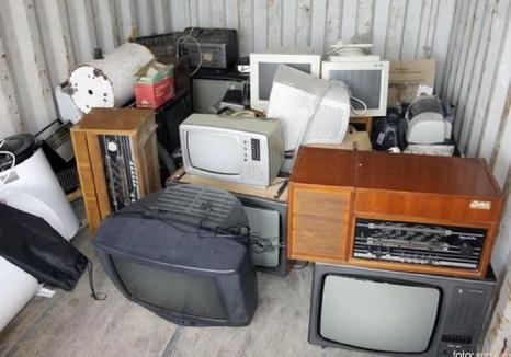 O nouă acțiune de colectare de deşeuri electrocasnice, sâmbătă