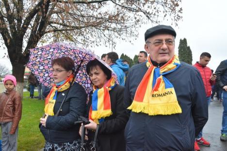 Şeful PSD Bihor, la dezvelirea unui bust în Sânmartin: Fiecare UAT să aibă un bust cu Mihai Viteazul, Burebista, Menumorut, Regele Ferdinand (FOTO)