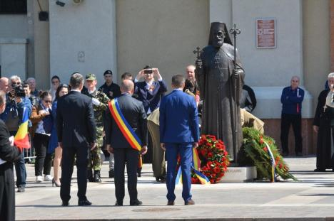 Ilie Bolojan la 100 de ani de la eliberarea Oradiei: 'Noi, românii, nu prea am reuşit să construim instituţii' (FOTO / VIDEO)