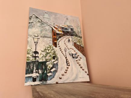 Artista din Barou: O avocată din Bihor a ajuns cunoscută în lumea artiștilor ca pictoriță (FOTO)