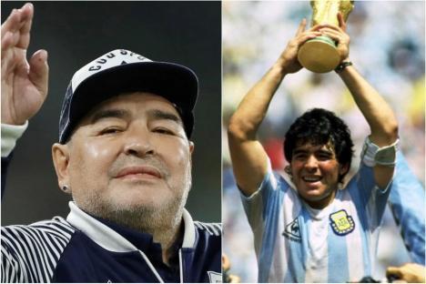 Legendarul fotbalist Diego Maradona a murit la 60 de ani