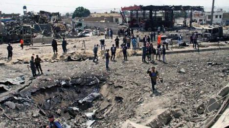 Atentatul din Kabul nu ar fi vizat Ambasada României. Imagini șocante cu ruinele cartierului 'internaţional' (FOTO / VIDEO)
