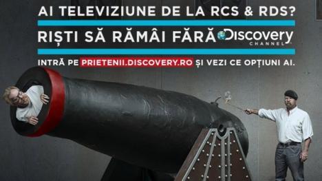 """RCS&RDS continuă războiul cu Discovery: """"Doar 1% dintre abonaţi vor posturile Discovery"""""""