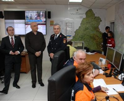 SMURD şi Ambulanţa Bihor lucrează de acum în acelaşi dispecerat