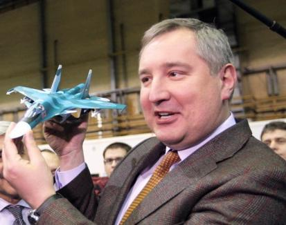 Vicepremierul rus, Dmitri Rogozin, a ameninţat România, după ce avionul în care se afla n-a putut intra în spaţiul nostru aerian