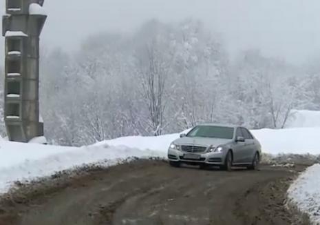 Cum arată DN 76, în Bihor: Şoferii şi-au pierdut orice urmă de încredere în autorităţi (VIDEO)