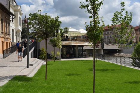 Lotus face legea! Noul restaurant din centru, construit pe malul Crişului, nu respectă proiectul pe care Primăria l-a promis orădenilor(FOTO)