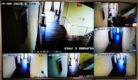 Centru de carantinare supravegheat video: Helion Group a donat un întreg sistem de supraveghere Jandarmeriei Bihor (FOTO)