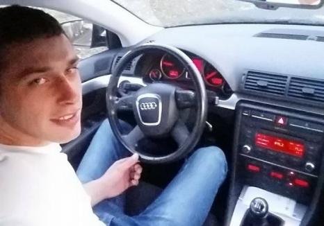 Accident mortal în comuna Buntești: Un şofer de 22 ani s-a oprit într-un stâlp de beton