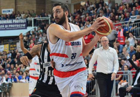Dragan Zekovic nu va mai evolua la CSM CSU Oradea în sezonul următor
