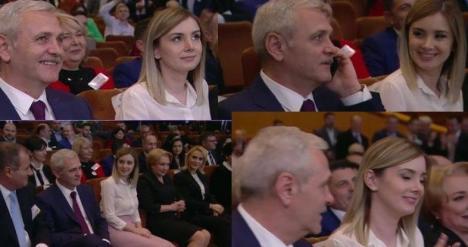 'Daddy' Dragnea s-a dus la Congres cu iubita, o fată cu 30 de ani mai tânără decât el