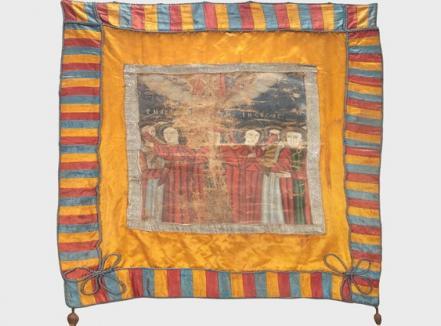 Drapelul de luptă a lui Avram Iancu va putea fi admirat la Oradea înainte să fie scos la licitaţie