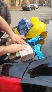 Flagrant în Oradea: Doi bărbaţi, reţinuţi, după ce au fost prinşi cu două kilograme de haşiş! (FOTO)