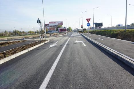 Drumul colector din zona străzii Ogorului a fost asfaltat (FOTO)