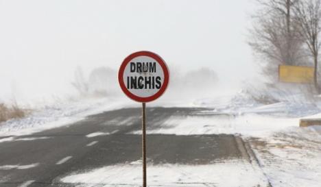Consiliul Judeţean anunţă închiderea unor drumuri judeţene din Bihor pe perioada iernii